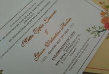 Metta Glaen Invitation by JN Invitation