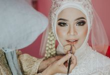 Intan's Wedding by Dian Salon