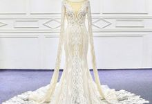 New Beautiful Mermaid Aline Wedding Gown Design by D BRIDE