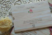 Toni & Priska Invitation by JN Invitation