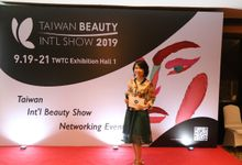 Presscon Taiwan International Beauty Show 2019 by MC Mandarin Linda Lin