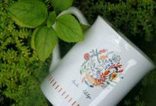 F.mini Love Wedding Anita&Aditya by Mug-App Wedding Souvenir