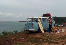 Blue Classic Car by Bali Classic Community
