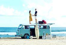 Blue VW Combie by Bali Classic Community
