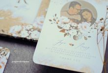 Invitation Mix Photo Frame - JOJO & ROSSY by Jogja Wedding Net