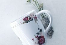 Mug Corning Wedding SL by Mug-App Wedding Souvenir