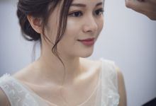Bride Jasmine ❤️ by Shino Makeup & Hairstyling