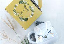 Mug Gentong Lia&Chandra by Mug-App Wedding Souvenir