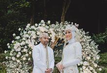 The wedding Nadia & Friza by Gedong Putih
