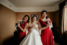 Yeyen & Bridesmaid by Phantasia Organizer