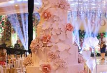 Wedding Cake by Evergreen Cake Boutique