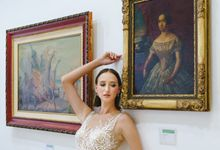 WEDDING DRESS COLLECTION: BLOOMS AT  MUSEUM by ODDY PRANATHA