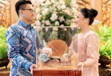 Engagement Day of Nina & Adhi 23 June 2019 by Bingkis Seserahan