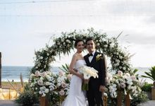 Bagoes & Tara Wedding at Villa Vedas Bali by Catalina Flora