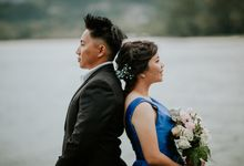 M & J -Overseas Prewedding by Allylimmakeup