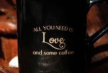 Mug Nescafe Black Wedding Lia&Faisal by Mug-App Wedding Souvenir