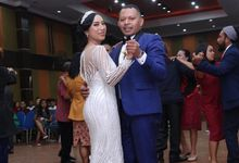 Mr. Ignasius Laya & Mrs. Flaviana by Ventlee Groom Centre
