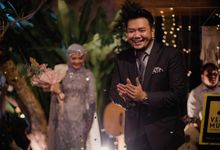 Mr. Adam Halim & Mrs. Monica by Ventlee Groom Centre