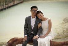 Norman and Poh Prewedding by Sissy makeup artis