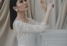 Mermaid Wedding Dress by Elina Wang Bridal