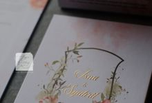 Invitation Mix Mirror - Isna & Syahril by Jogja Wedding Net