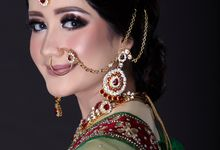 Beautiful Indian Bride by Aisya Argubi