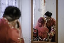KUA Chinese Couple Wedding by Angel Chua Lay Keng Makeup and Hair