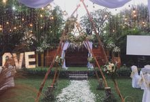 WEDDING BLESSING & RECEPTION by The Cakra Hotel Wedding Venue