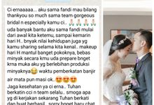 You dont love someone because they're perfect ❤ by Gorgeous Bridal Jakarta