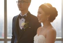 Wedding Of Tommy & Irene by Elina Wang Bridal