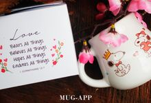 Mug Gentong Wedding Agustinus&shinthia by Mug-App Wedding Souvenir