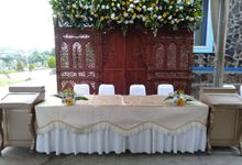 The Wedding Of Votti And Joen by Dirasari Catering