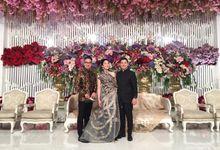 Jesslyn & Raynaldo Engagment - Fairmont Hotel Jakarta by Mosandy Esenway management