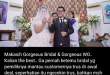 You call it madness, but i call it LoVe by Gorgeous Bridal Jakarta