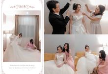 Love is sweet, please take a treat... by Gorgeous Bridal Jakarta