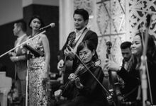 The wedding of Danty & Naufal by Solala Orchestra Entertainment