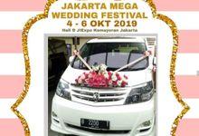 JAKARTA MEGA WEDDING FESTIVAL 4-6 OKT 2019 by BKRENTCAR
