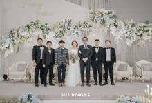 Wanda & Joshua Wedding At Menara Mandiri by Josh & Friends Entertainment