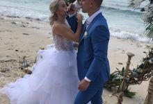 The Wedding of Aleksander & Yulia by The Beyond Bali