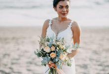 Dancing In The Moonlite by Just Married Bali Wedding