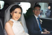 Krista & David's  Wedding by Chindra Tansil