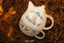 Teko Susun Gajah Wedding Gesit Yamunika by Mug-App Wedding Souvenir