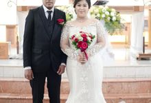 Happy wedding to fany & Ivan by D BRIDE