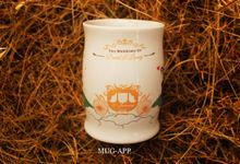 Wedding David&lanny by Mug-App Wedding Souvenir