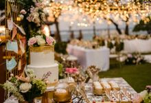Wedding Cake & Sweet Corner by Moia Cake