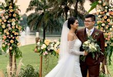 Putri And Steven Wedding by Ivone sulistia