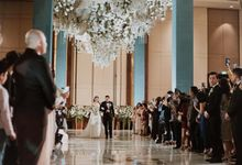 Ritz Carlton Pacific Place - Bobby & Angela by Maestro Wedding Organizer