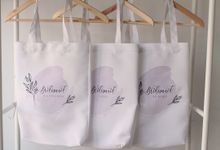 Bridesmaid Totebag by Earl and Amy
