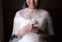 Wedding Of Martinus & Monica Intan by Elina Wang Bridal