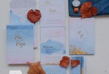 Invitation Mix Mirror - RESI & RISZA by Jogja Wedding Net